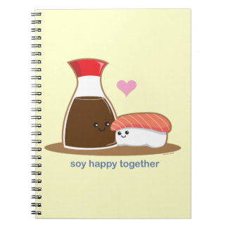 Soy Happy Together Notebook