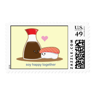 Soy Happy Together Postage Stamps