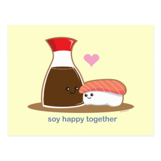 Soy Happy Together Postcards