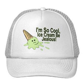 Soy helado tan fresco sea celoso gorro