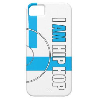 SOY HIP HOP - EXPEDIENTE Y BARZ (EL FONDO BLANCO) iPhone 5 CARCASAS