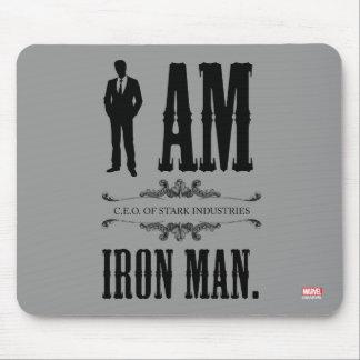 Soy hombre del hierro alfombrilla de ratones