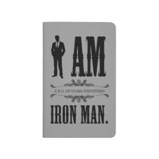 Soy hombre del hierro cuaderno grapado
