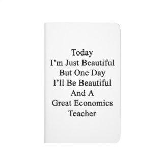 Soy hoy apenas hermoso pero un día que seré Beaut Cuadernos Grapados