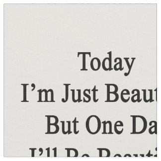 Soy hoy apenas hermoso pero un día que seré Beaut Telas
