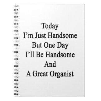 Soy hoy apenas hermoso pero un día que seré Handso Spiral Notebook