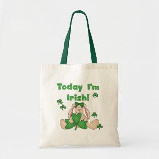 Soy hoy camisetas irlandesas y regalos de St.Pat's Bolsa Tela Barata