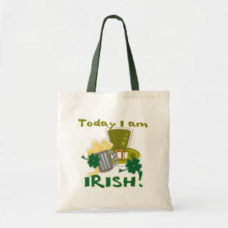 Soy hoy camisetas y regalos irlandeses bolsa tela barata