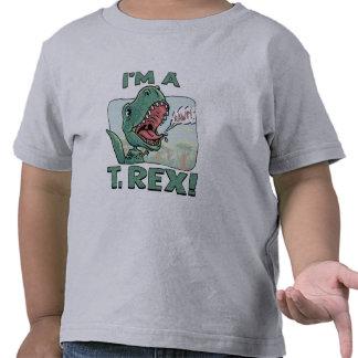 Soy ideas de un regalo de T. Rex Dinosaur Camisetas