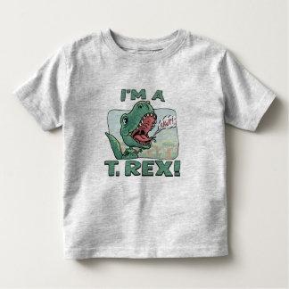 Soy ideas de un regalo de T. Rex Dinosaur Playera De Bebé