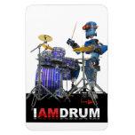 Soy imán del robot del tambor