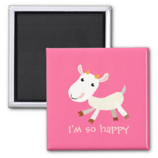 Soy imán tan feliz de la cabra