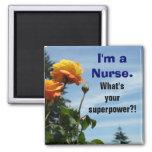 ¡Soy imanes de una enfermera cuál es su superpoten Imanes