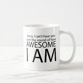 Soy impresionante taza de café