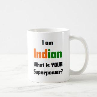 Soy indio taza clásica