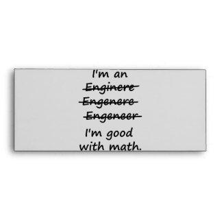 Soy ingeniero que soy bueno en la matemáticas