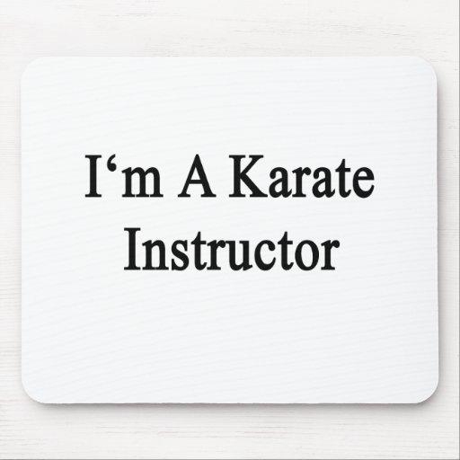 Soy instructor del karate alfombrilla de ratones