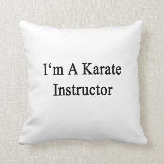Soy instructor del karate almohada