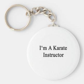 Soy instructor del karate llavero personalizado
