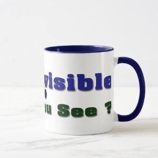 Soy invisible taza