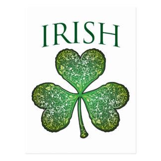 ¡Soy irlandés! El día de St Patrick feliz Tarjetas Postales