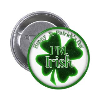 ¡Soy irlandés! Pin Redondo De 2 Pulgadas