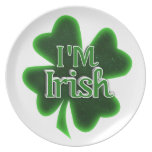 ¡Soy irlandés! Plato Para Fiesta