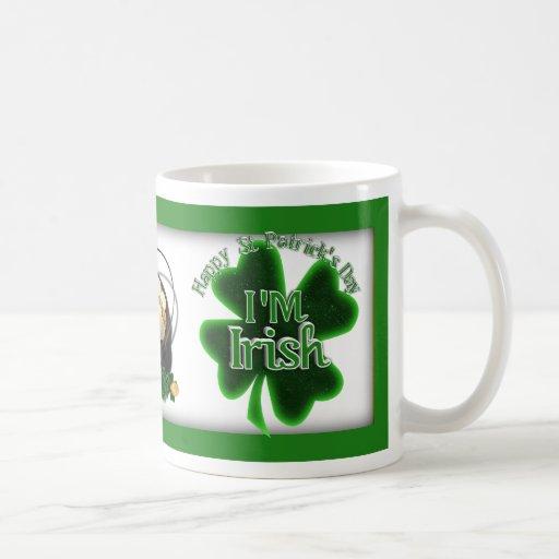 ¡Soy irlandés! Tazas De Café