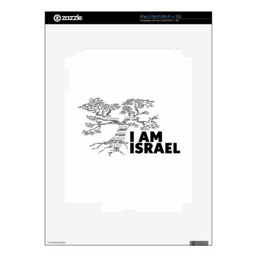 Soy Israel Skin Para El iPad 2
