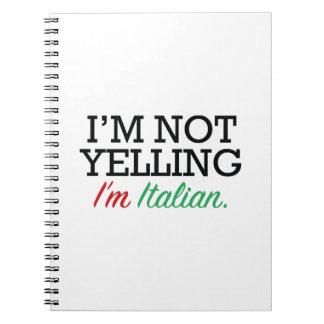 Soy italiano libretas espirales
