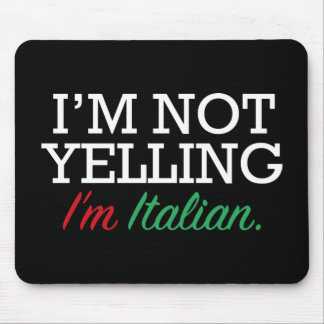 Soy italiano mousepad