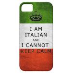 soy italiano y no puedo guardar la caja tranquila  iPhone 5 Case-Mate cárcasas