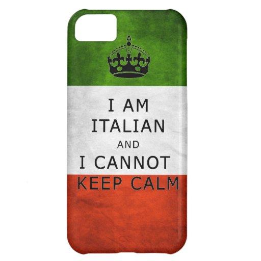 soy italiano y no puedo guardar la caja tranquila  funda para iPhone 5C