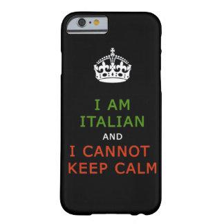 soy italiano y no puedo guardar la caja tranquila funda de iPhone 6 barely there