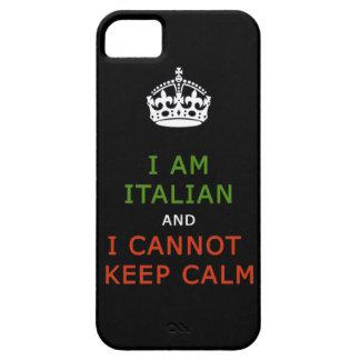 soy italiano y no puedo guardar la caja tranquila  iPhone 5 Case-Mate funda