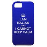 Soy italiano y no puedo guardar la calma - caso de iPhone 5 fundas