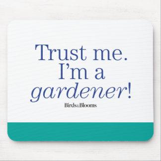Soy jardinero alfombrilla de ratones