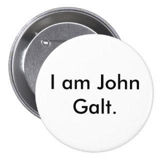 Soy Juan Galt. Pin Redondo De 3 Pulgadas