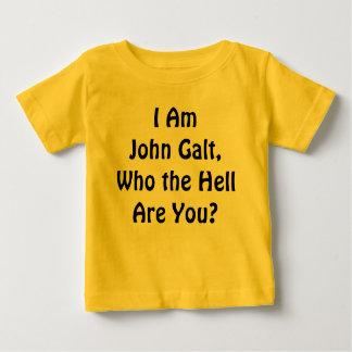 ¿Soy Juan Galt, que es usted? Playera De Bebé