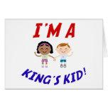 Soy Kid Card de un rey Felicitaciones
