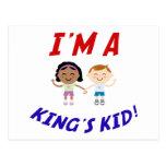 Soy Kid Postcard de un rey Tarjetas Postales