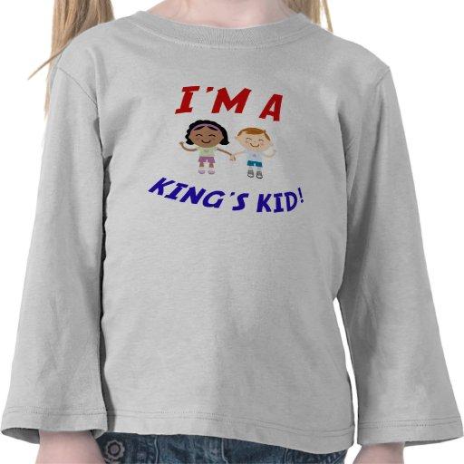 Soy Kid Shirt de un rey Camiseta