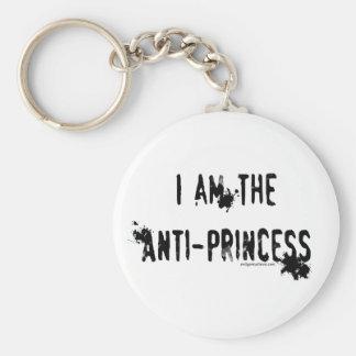 Soy la anti-princesa llavero redondo tipo pin