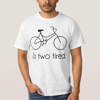 Soy la bicicleta soñolienta demasiado cansada playera
