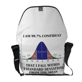 Soy la caída confiada 99,7% dentro de 3 bolsa de mensajería