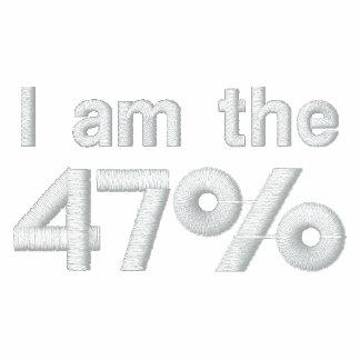 Soy la camisa bordada el 47% polo bordado