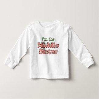 Soy la camiseta de la hermana grande - modificada playera de manga larga de niño