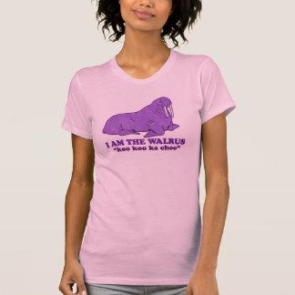 Soy la camiseta de la morsa remeras