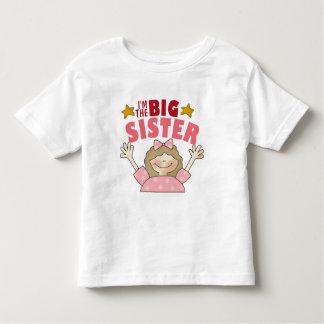 Soy la camiseta del niño de la hermana grande