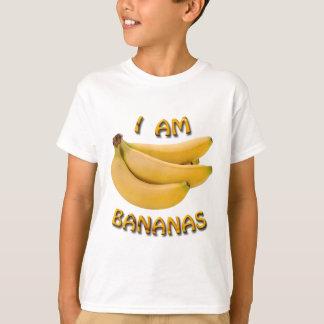Soy la camiseta del niño de los plátanos